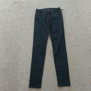 White House Black market jeans dark wash